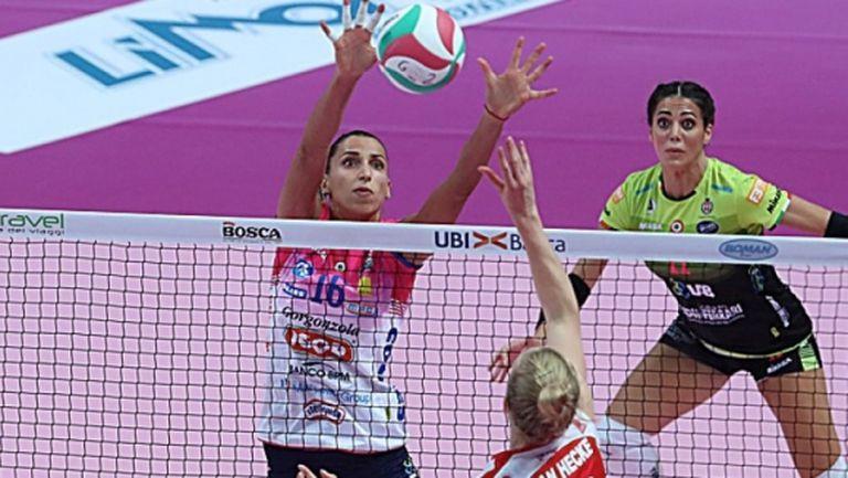 Отново спряха женския волейбол в Италия