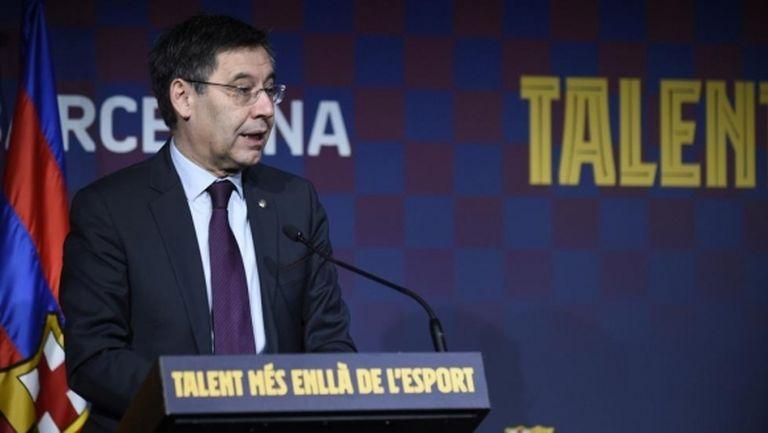 Бартомеу: Ще загубим 6 милиона евро заради мача с Наполи, но това не е важно