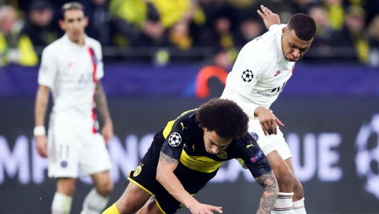 Мбапе отново не тренира преди сблъсъка с Дортмунд