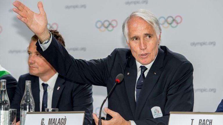 Президентът на Италианския комитет: Почти сме засрамени, че сега се занимаваме със спорта