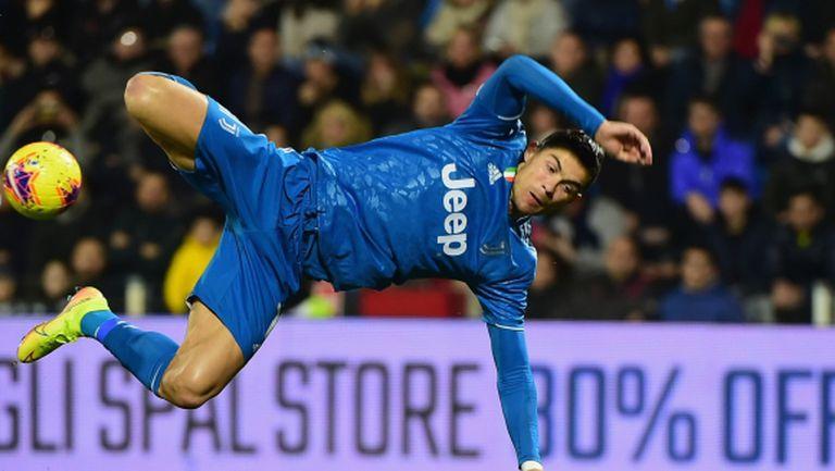 Вдигат забраната за полети до Италия заради Роналдо