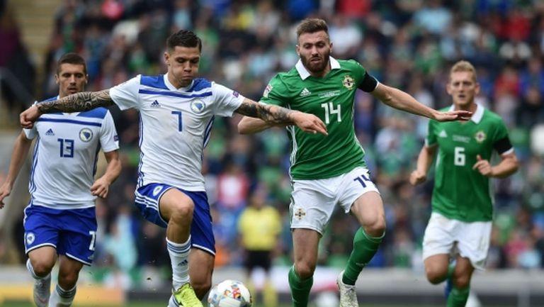 Босна помоли УЕФА за отлагане на баража със Северна Ирландия