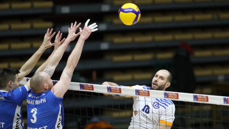 Спират всички волейболни мачове на територията на България