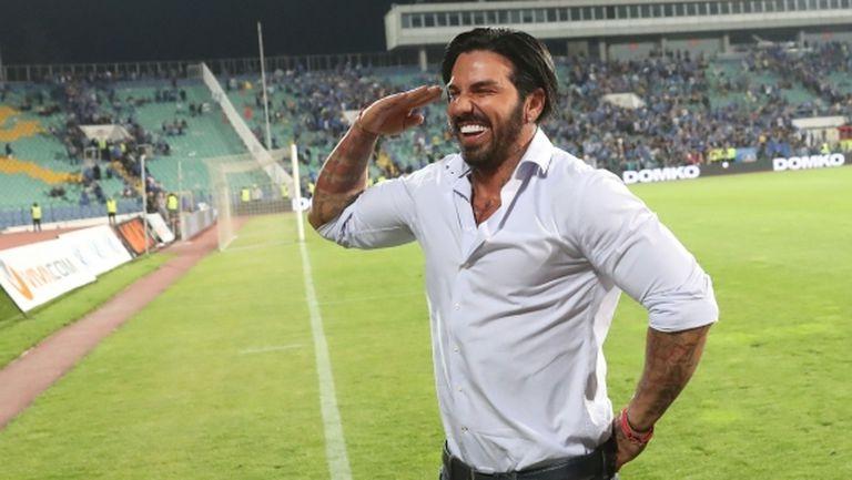 Благой Георгиев купува редовен участник в Лига Европа