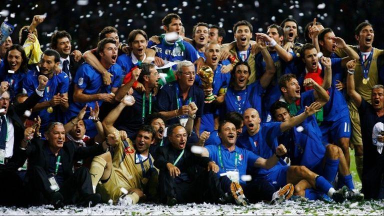 В Италия си припомниха за Мондиал 2006 заради паузата в първенството