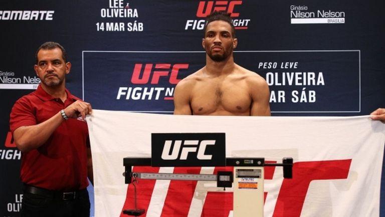 UFC в Бразилия: Кевин Лий не успя да влезе в категория