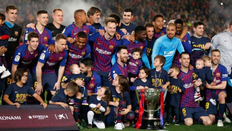 Барселона ще претендира за титлата, ако Ла Лига не приключи