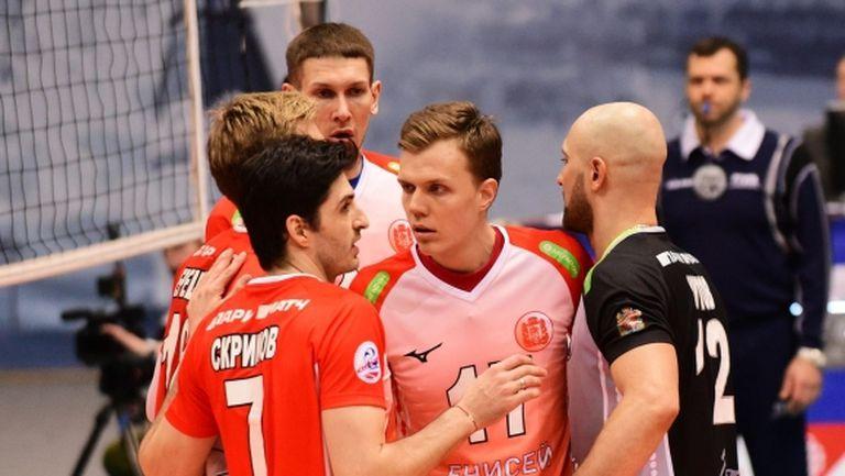 Тодор Скримов и Енисей изненадаха Факел на Камило Плачи в първия плейоф в Русия