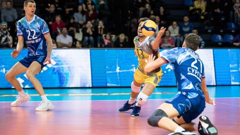 Теди Салпаров и Газпром-Югра взеха само гейм на Динамо в 1/4-финал №1 в Русия