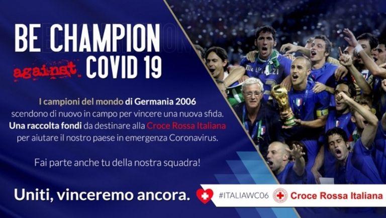 Шампионите от Мондиал 2006 отново са заедно - този път в борбата срещу коронавируса