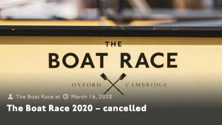 Отмениха легендарната гребна регата Оксфорд - Кеймбридж