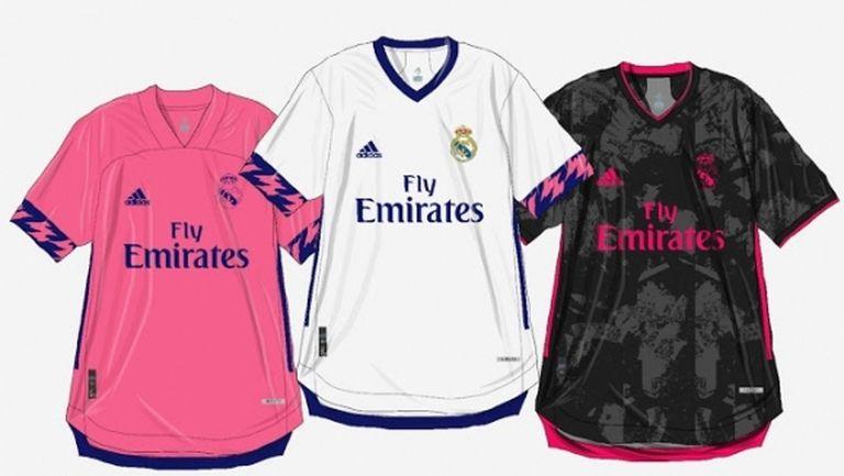 Така ли ще изглеждат новите фланелки на Реал Мадрид?