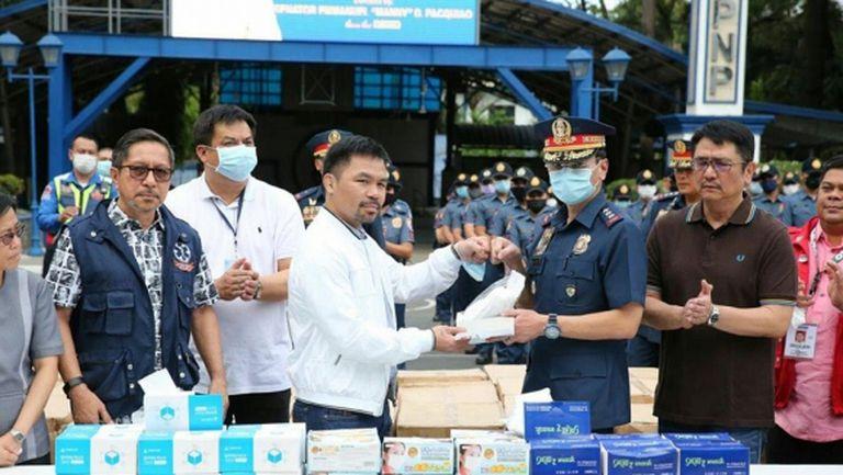 Мани Пакяо дарява 50 хиляди теста за коронавирус на Филипините