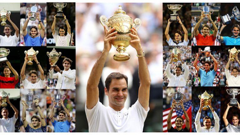 Четири велики рекорда на Федерер, които трудно ще бъдат подобрени