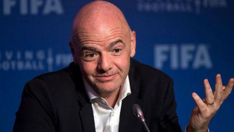 Инфантино отсече: Повече трансфери за 100 милиона евро във футбола няма да има