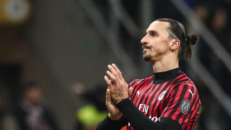 В Милан си правят сметките за следващия сезон без Златан