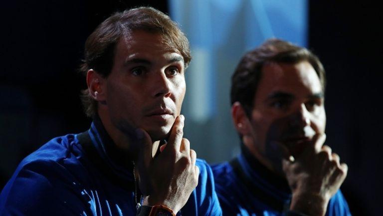 """US Open може да остане без Надал, """"Ролан Гарос"""" без Федерер"""
