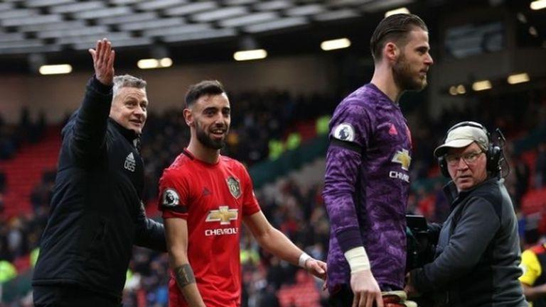 В Ман Юнайтед очакват сезона да се поднови през май