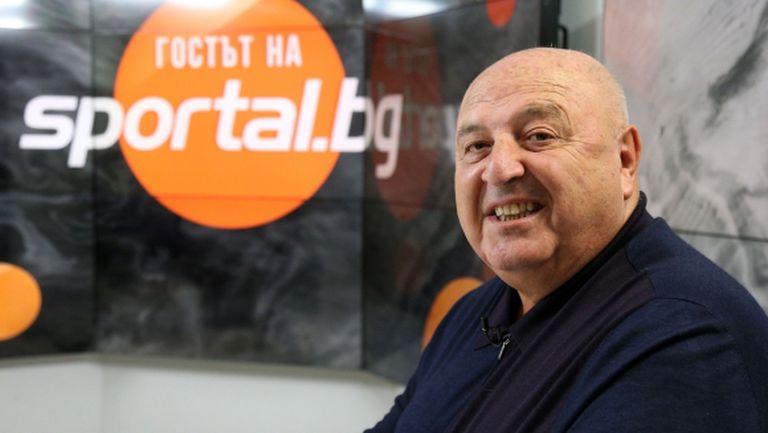 Венци Стефанов: Хора, на които им липсва тотото, искаха да прекратят първенството