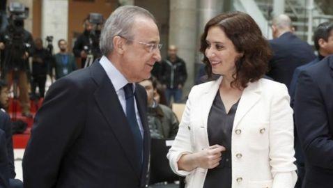 """Реал Мадрид е помогнал с """"голямо дарение"""" на Мадрид"""