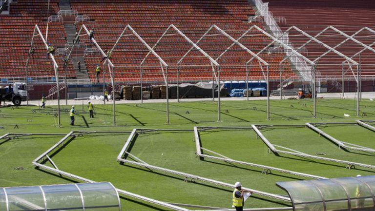 "Стадион ""Пакаембу"" в Сао Пауло става полева болница"
