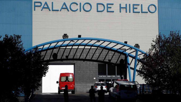 Леденият дворец сe превърна в новата морга на Мадрид
