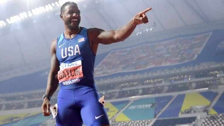 Гатлин: Целта е да участвам на Олимпийските игри в Токио през 2021 г.