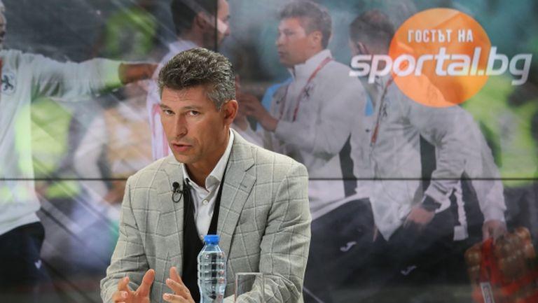 Балъков: Ивелин Попов е категоричен, но във футбола всичко е възможно (видео)