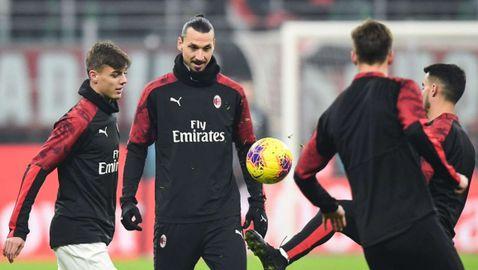 Връщането към тренировки в Милан се отлага