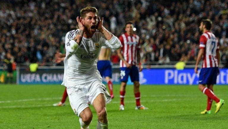 Рамос: След гола ми срещу Атлетико казах на майка ми, че мога да умра спокойно