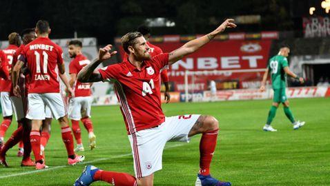 Албентоса сподели любимите си моменти с червения екип