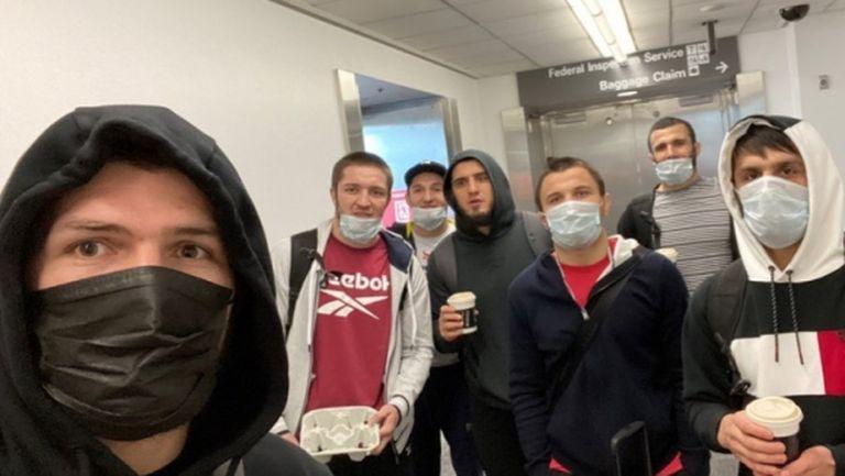 Журналист разкри, че Хабиб Нурмагомедов лъже, че не може да пътува до САЩ (снимки)