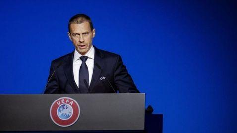 УЕФА настоява всяко първенство да се доиграе