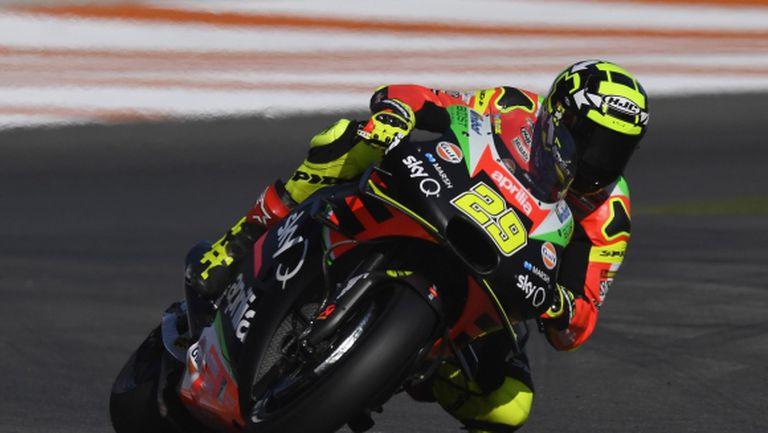 Пилотът от MotoGP Андреа Яноне наказан за 18 месеца заради допинг