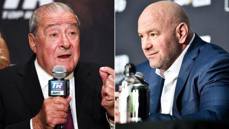 Мениджърът на Кобрата скочи на шефа на UFC