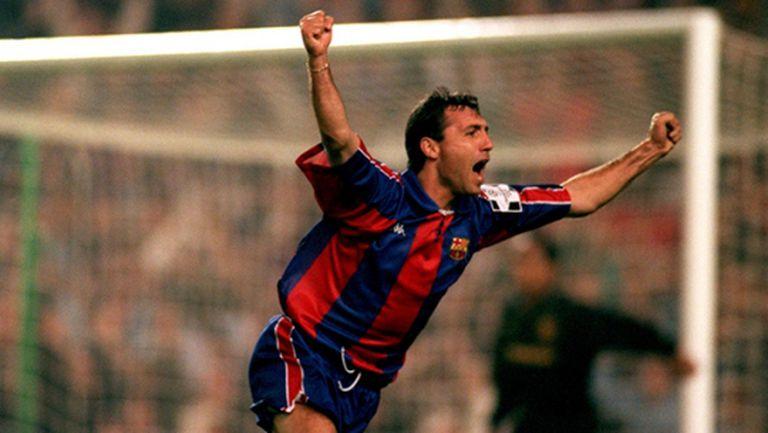 Стоичков се бори в гласуване за най-великите футболисти на Барселона