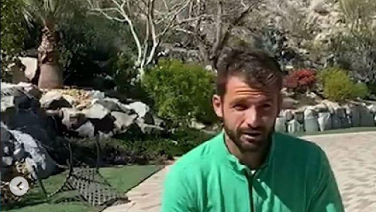Григор Димитров: Останете вкъщи, но бъдете активни (видео)
