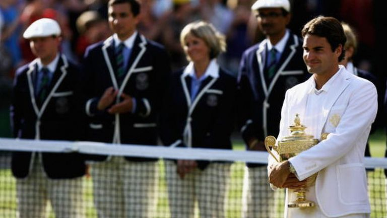 Федерер сложи шапка и показа наглед просто, но полезно упражнение (видео)