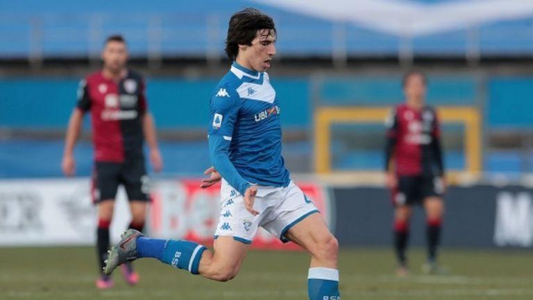 Милан стартира преговори за Сандро Тонали