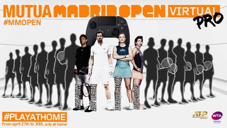 Анди Мъри се включва във виртуалния Madrid Open, ясни са още трима от участниците