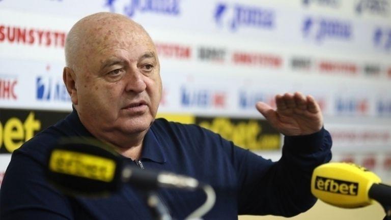 Венци Стефанов: Да спрем шампионата сега е недалновидно