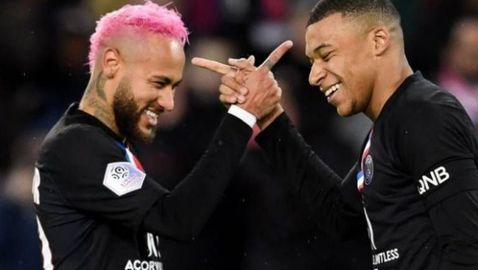 Неймар и Мбапе водят идеалния отбор на сезона в Лига 1