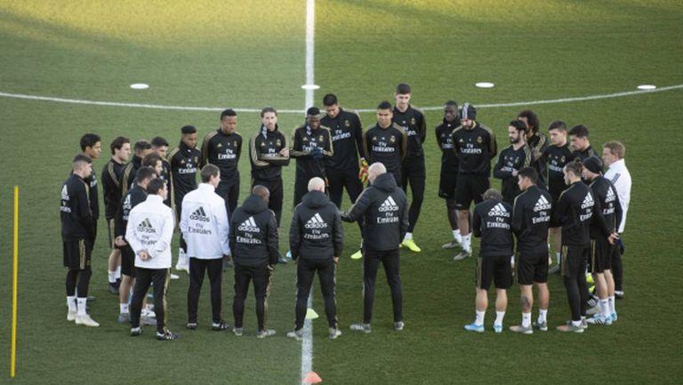"""Реал Мадрид ще се завърне към тренировки само при """"нулев риск"""""""