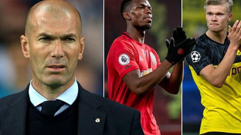 Планът на Зидан за нов Реал: повече физическа мощ плюс Погба и Холанд