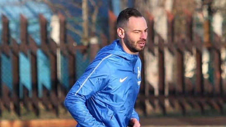 Славчев започва тренировки
