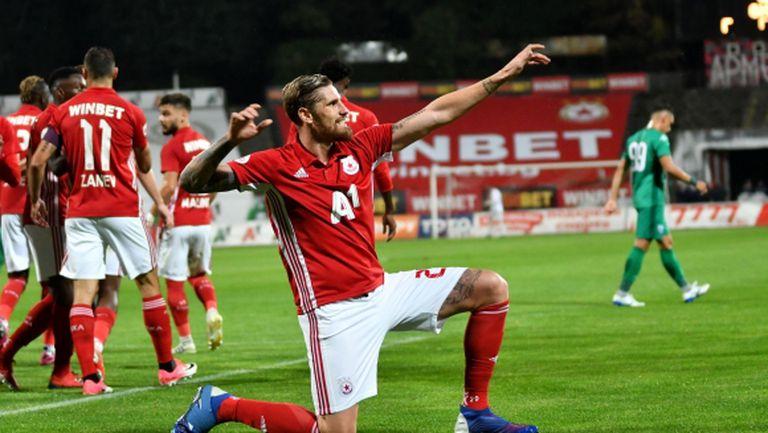 Албентоса с голям жест към ЦСКА-София, отказва се от десетки хиляди евро