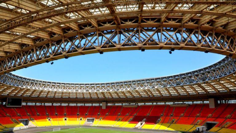 """""""Лужники"""" готов да приеме мачове от Евро 2021 при нужда"""