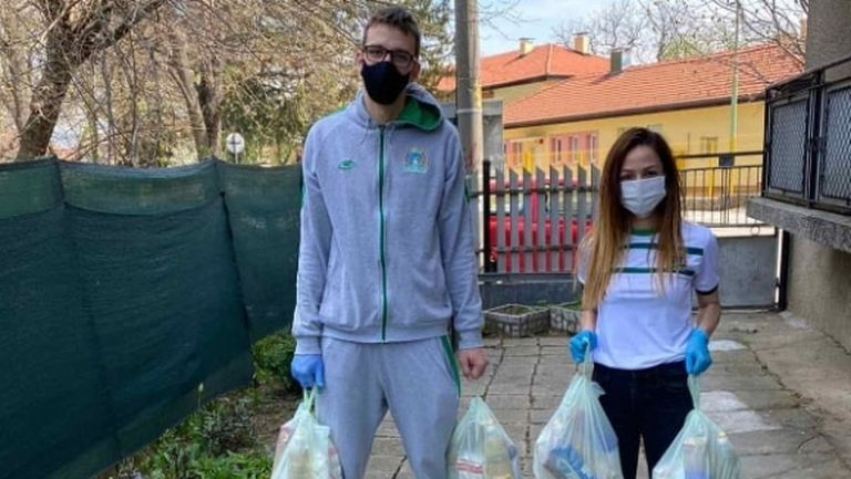 Играчи на Балкан се включиха в благотворителна кампания