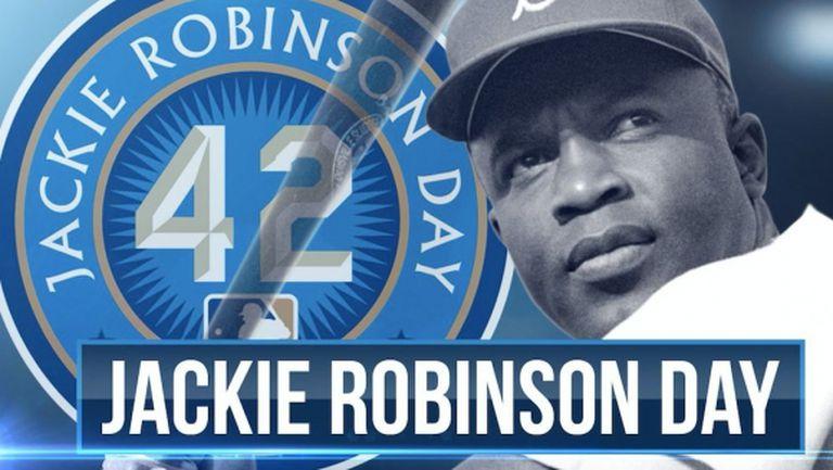 №42 бе почетен виртуално в Деня на Джаки Робинсън