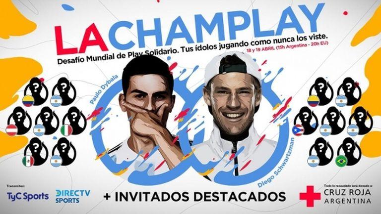 Дибала и Шварцман главни герои в благотворителен турнир по FIFA 20